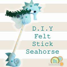 Diy Seahorse Stick Hobby Horse.