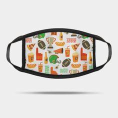 Masks by Sandra Hutter Designs | TeePublic Face Masks For Kids, Sunglasses Case, Football, Design, Fashion, Soccer, Moda, Futbol, Fashion Styles
