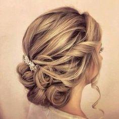 Wedding hairstyle ideas #weddingideas