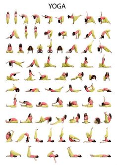 Йога для развития гибкости -