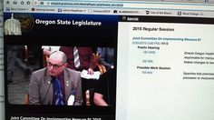 Russ Belville Portland NORML Director Testifies In Salem, OR - a hearing on SB936 & HB3400, bills that would, among other things, restrict medical marijuana grows within residential area to just twelve plants.
