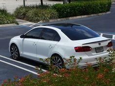 "My Mk6 Jetta TDi - 18"" GTI wheels, 3M vynil roof with spoiler."