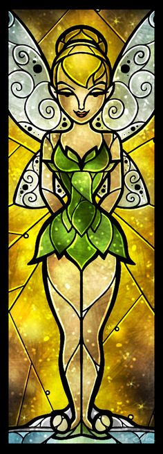 The Pixie Art Print ~ Tinkerbell