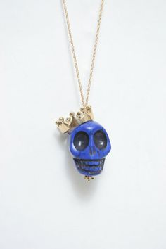 This Skull w/crown necklace was featured on The Real Housewives of Beverly Hills on Kyle Richards!