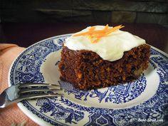 Bizcocho de zanahoria con glaseado - Bake-Street.com
