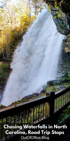 Chasing Waterfalls in North Carolina, Road Trip Stops • Usa Travel Guide, Travel Usa, Travel Guides, Travel Tips, America And Canada, North America, Cool Places To Visit, Places To Travel, North Carolina Waterfalls