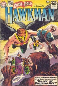 The Brave and the Bold 35 Hawkman Golden Age DC Comics