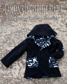 Lovely boy's jacket, with a ton of options!