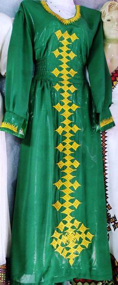 Ethiopian/Eritrean+custom,+Hand+Made,+Habeshan,+Hager+lebse,+Traditional+Dress+Free+shipping