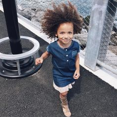 Cutie curly hair . #scoutstyle #curlsonFleek #ScoutTheCity