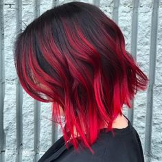 Pink-Red with Yellow Highlights - 20 Cool Styles with Bright Red Hair Color (Updated for - The Trending Hairstyle Hair Color Shades, Red Hair Color, Cool Hair Color, Color Red, Magenta Hair Colors, Pink Purple, Dyed Red Hair, Brown Ombre Hair, Ombre Hair Dye