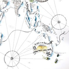 The World by Bicycle, Alex Hotchin Map Drawings Travel Light, How To Draw Hands, Bicycle, The Incredibles, Romania, World, Drawings, Maps, Bike