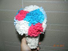 Felt Flower Bouquet Decor