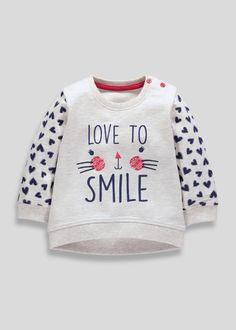 Girls Character Sweatshirt (3mths-5yrs)