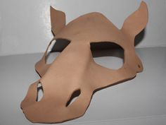 DIY Horse Mask, DIY Project, Decorate your own, leather mask, leather animal mask, masquerade mask, unfinished, unpainted do it yourself by MasqueradeMojo on Etsy https://www.etsy.com/listing/268058730/diy-horse-mask-diy-project-decorate-your