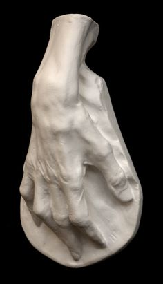 Voltaire Hand Sculpture For Sale, Item #621 | The Giust Gallery