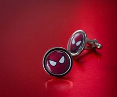 Cool Set Of Spiderman Cufflinks by UnofficiallyOriginal on Etsy Spiderman, Cufflinks, Cool Stuff, Etsy, Accessories, Spider Man, Amazing Spiderman, Ornament