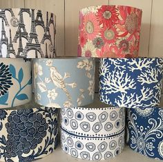 Gorgeous Fabrics, Lamp Shades, Bedside, Instagram Posts, Home Decor, Products, Lampshades, Homemade Home Decor, Decoration Home