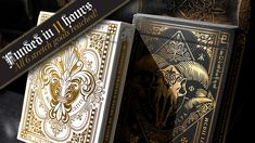 Nicolai Aarøe is raising funds for Dominus Playing Cards on Kickstarter! 2 limited ed. decks with metallic ink and gold foiled, embossed tucks. Vol. II in the 'Light vs. Darkness' series by Nicolai Aarøe. Unique Playing Cards, Raise Funds, Gold Foil, Ink, Decks, Darkness, Metallic, Design, Raising