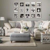 szürke és krémszín nappali