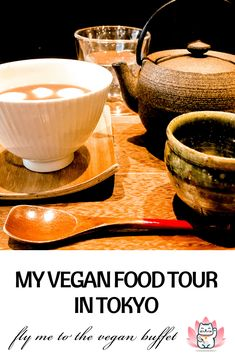 This is the Tokyo-Shimokitazawa vegan tour that I took and the yummy things I got Bio Restaurant, Organic Restaurant, Tempura, Mochi, Travel Advise, Travel Tips, Organic Recipes, Vegan Recipes, Japanese Soup