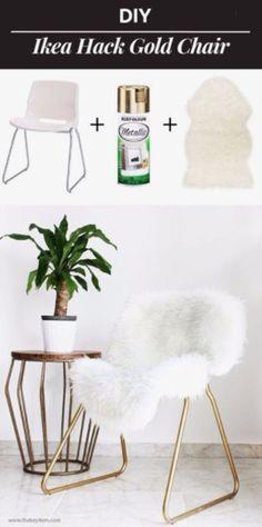 Create your own metallic corner chair - CosmopolitanUK