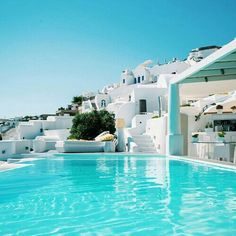 summer, pool, and Greece image