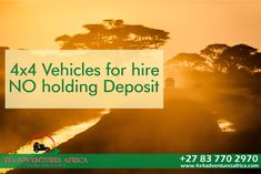 NO holding deposit Unlimited Km's anywhere in Africa GPS included with Tracks for Africa Affordable rates for all Budgets visit our website to request your quote No Worries, 4x4, Budgeting, Waiting, Africa, Quote, Adventure, Website, Vehicles