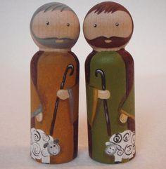 peg doll nativity - Google Search