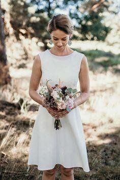 Die 43 Besten Bilder Von Brautkleid Standesamt Marriage Dress