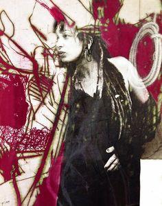 Jaya Suberg painter-digital art-polyvalent Germany | VITRINART.