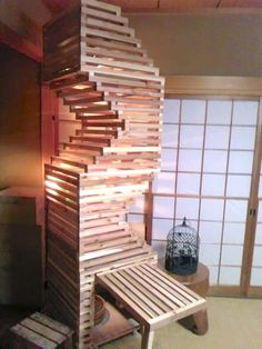 An active cat generally makes for a happy cat. When Instructables user thattori's cats needed a new place to occupy their curiosities all day long, this DIY-er got to work building his precious beauties the cat tower of their dreams. Early on, this builder chose to use Japanese cedar to bring his design to life. Not only would this material make...