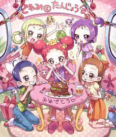 Ojamajo Doremi, by Rojiko Manga Love, Manga Girl, Manga Anime, Ojamajo Doremi, Maho, Hokusai, Digimon Adventure Tri, Kawaii Doll, Anime Toys