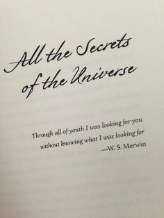 aristotle and dante discover the secrets of the universe quotes - Google Search