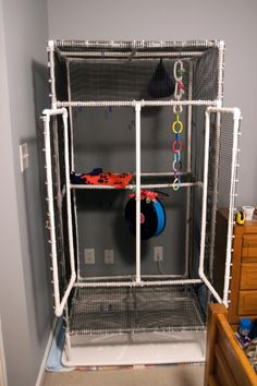 GliderGossip - How To: Sugar Glider PVC Cage  YESSSSS!! and only $85!