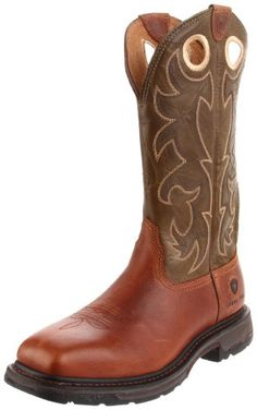 Click Image Above To Purchase: Ariat Men's Workhog Wide Square Steel Toe Boot