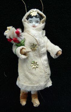 Christbaumschmuck aus watte mit Antike Puppe Porzellankopf, Mädchen in Sammeln & Seltenes, Saisonales & Feste, Weihnachten & Neujahr | eBay!