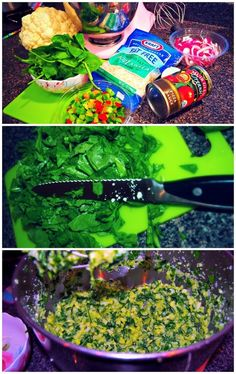 Undressed Skeleton — Veggie Pizza With Spinach & Cauliflower Crust! (80 Cal Per Slice)
