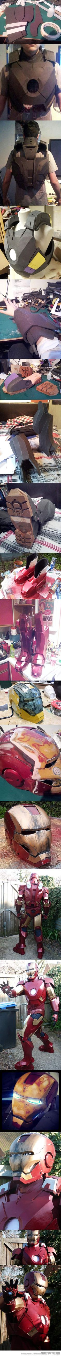 Iron Man suit from scratch…possible halloween costume for next year...