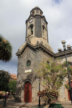 Canary Island - Tenerife, Puerto de la Cruz, Church Nuestra Señora de la Peña