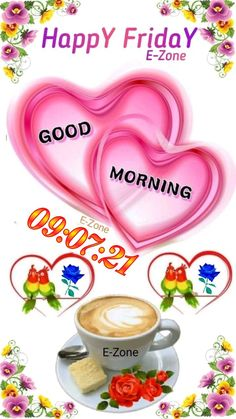 Good Morning Friday, Happy Day, Tableware, Quotes, Quotations, Dinnerware, Tablewares, Dishes, Place Settings