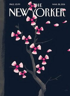 Lovely Japan-themed New Yorker cover this week by Christoph Niemann.