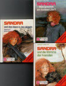 gebrauchtes Buch – Margot Kreuter – Sandra und das Haus in den Hügeln (4)  und die Stimme der Fremden (5) Was geschah am dunklen Ufer? (6)