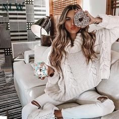 Fall Outfits, Casual Outfits, Fashion Outfits, Fashion Trends, Long Sleeve Turtleneck, Cropped Sweater, Mohair Sweater, Batwing Sleeve, Fall Sweaters