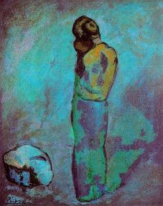 Mother and Child (Madre y niño) by Pablo Picasso. Medium: Oil on canvas; Pablo Picasso, Art Picasso, Picasso Paintings, Picasso Images, Georges Braque, Picasso Blue Period, Art Moderne, Prado, Mother And Child