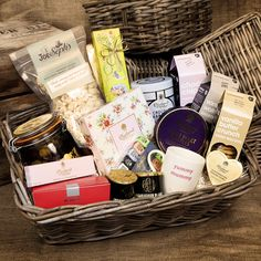 This luxury food hamper is truly a special treat for all of mum's hard work!