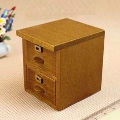 1:12 Scale Mini Furniture Cabinet Dollhouse Miniature Re-ment Fairy Doll Home | eBay