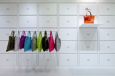 #Store #Interior #Display #Wall #Hanging #24IsseyMiyake