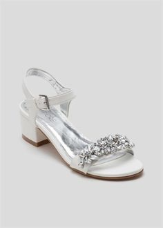 Jewel Embellished Block Heel Sandal Matalan, Foot Locker, Block Heels, Jewels, Sandals, Shoes, Women, Fashion, Moda