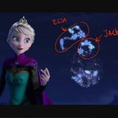 Could the snowflakes show us true Jelsa? Is their a conspiracy with dreamworks and Disney about Jelsa?